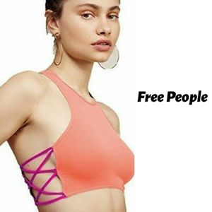 Free People Racerback Crisscross Bralette